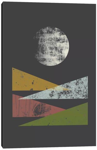 Hills At Night Canvas Print #OWL60