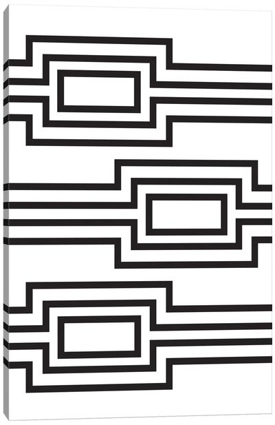 Horizontal Lines Canvas Art Print