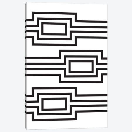 Horizontal Lines Canvas Print #OWL61} by Flatowl Canvas Art