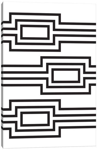 Horizontal Lines Canvas Art Print