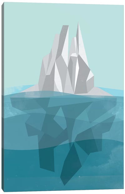 Iceberg Canvas Art Print