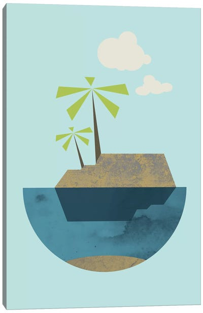 Island Canvas Art Print