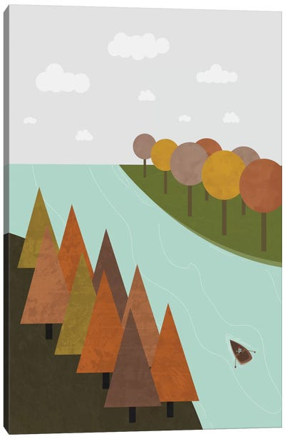 Autumn Canvas Art Print