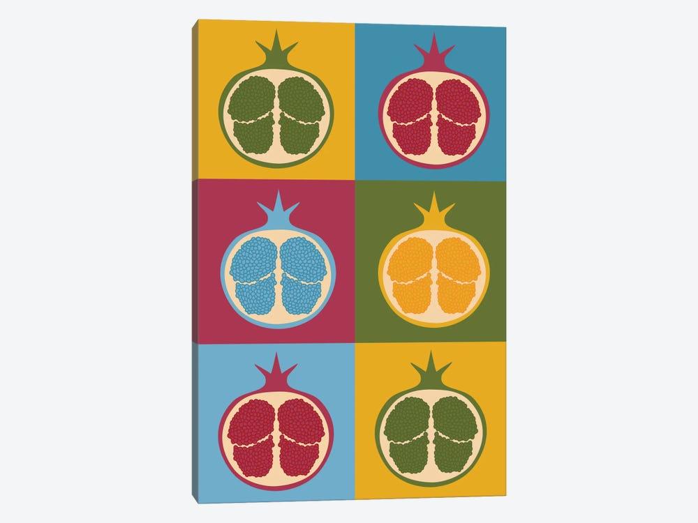 Pomegranate by Flatowl 1-piece Canvas Artwork