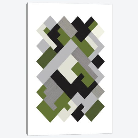 Rectangles Org Canvas Print #OWL81} by Flatowl Canvas Artwork