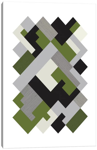 Rectangles Org Canvas Art Print