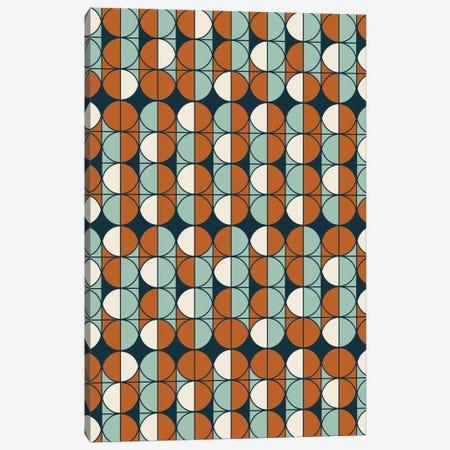 Retro Pattern Canvas Print #OWL82} by Flatowl Canvas Artwork