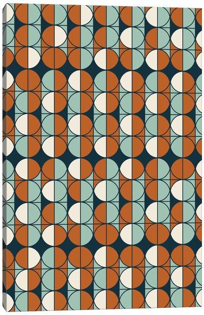 Retro Pattern Canvas Art Print