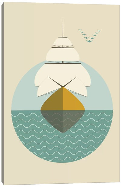 Ship Canvas Art Print