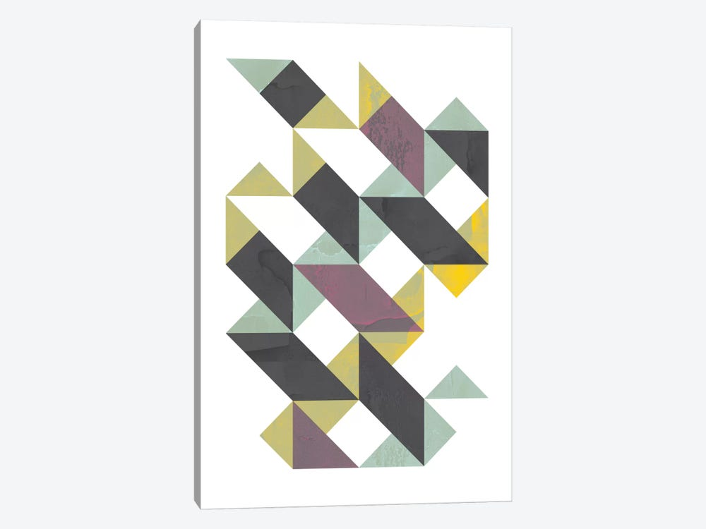 Triangles I 1-piece Canvas Artwork