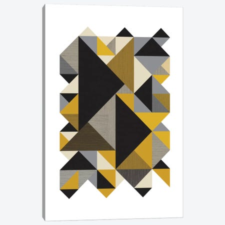 Triangles Org Canvas Print #OWL98} by Flatowl Canvas Print
