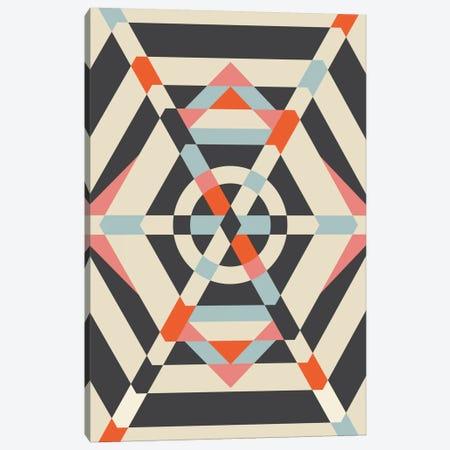 Umbrella Canvas Print #OWL99} by Flatowl Canvas Print