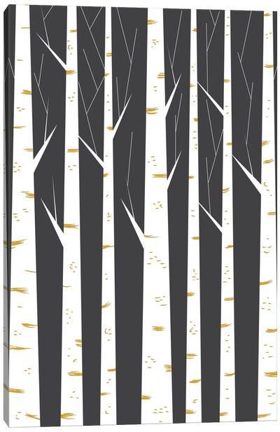 Birch Forest Canvas Print #OWL9