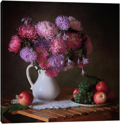 August Gifts Of The Garden Canvas Art Print