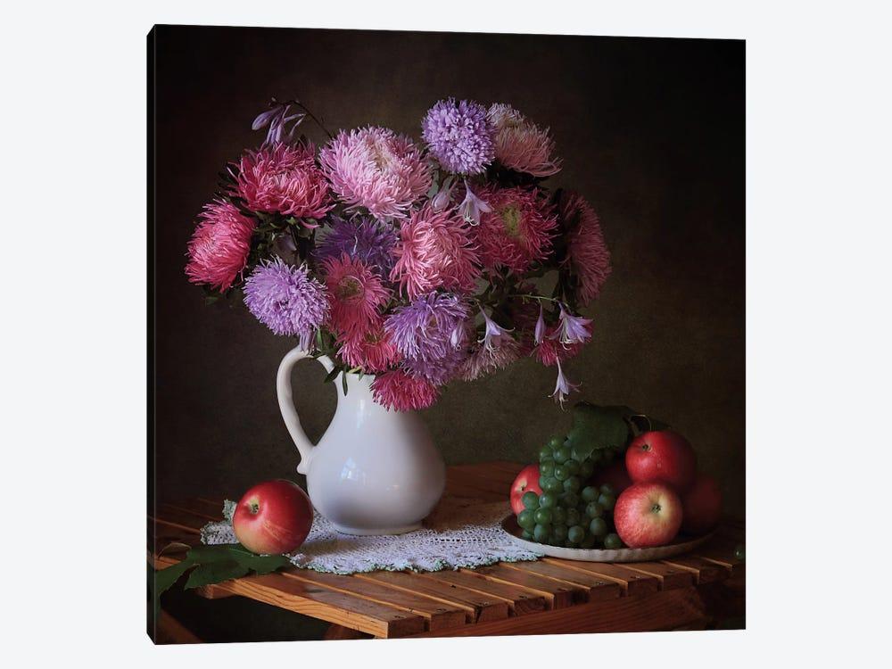 August Gifts Of The Garden by Tatiana Skorokhod 1-piece Canvas Art Print