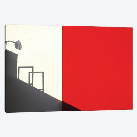 Red Westwood Canvas Print #OXM102} by Roxana Labagnara Canvas Art Print