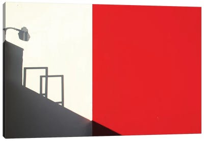 Red Westwood Canvas Art Print