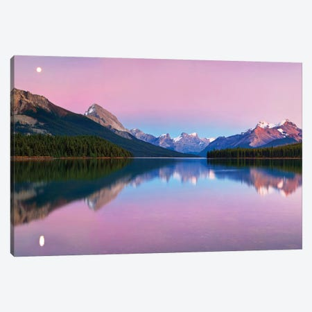 Maligne Lake Canvas Print #OXM1059} by Yan Zhang Art Print