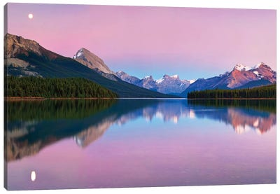 Maligne Lake Canvas Art Print