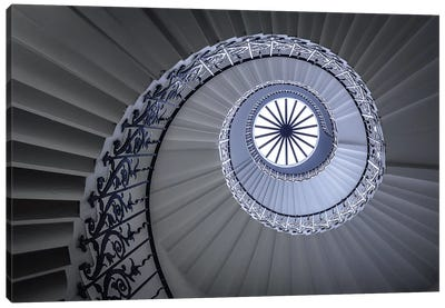 Staircase Canvas Print #OXM105
