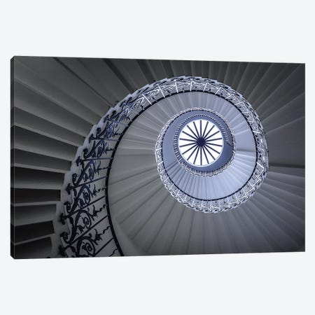 Staircase 3-Piece Canvas #OXM105} by Sus Bogaerts Canvas Artwork