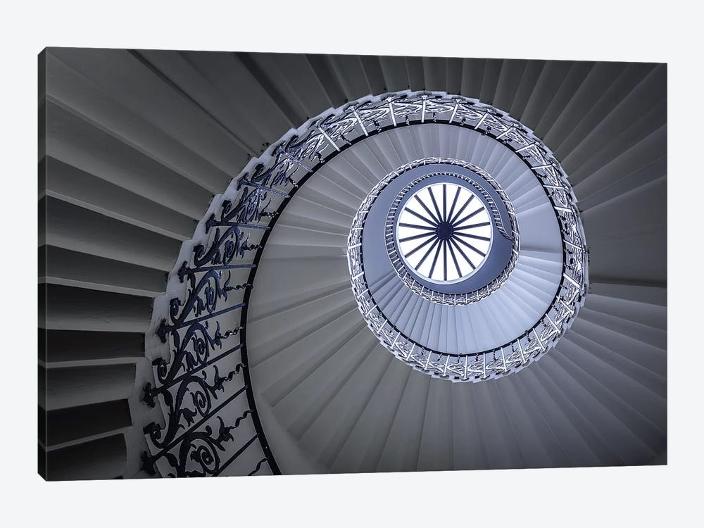 Staircase by Sus Bogaerts 1-piece Canvas Print
