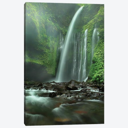Tiu Kelep 3-Piece Canvas #OXM1072} by Adhi Prayoga Canvas Print