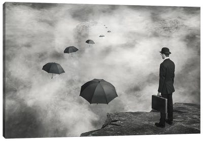 The Road Less Traveled Canvas Art Print