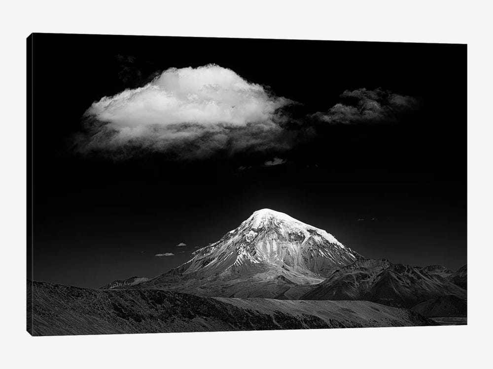 Mountain And Cloud by Alan Mcnair 1-piece Canvas Art Print