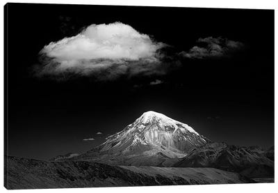 Mountain And Cloud Canvas Art Print