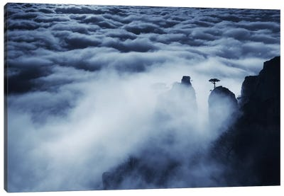 Demerdji Beyond The Clouds Canvas Art Print