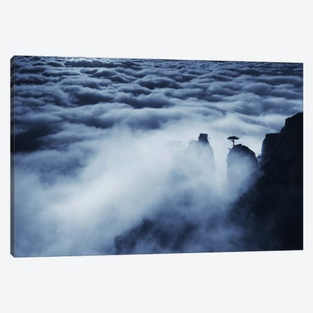 Demerdji Beyond The Clouds Canvas Print #OXM1107} by Alexey Kharitonov Canvas Artwork