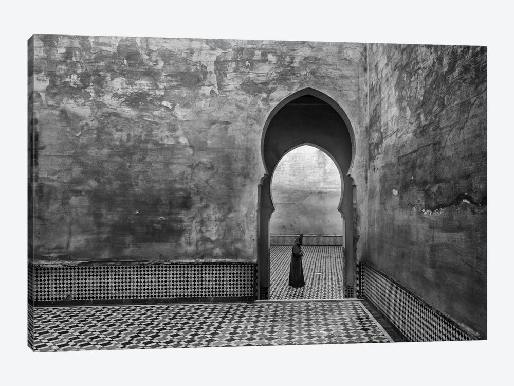 Old World by Ali Khataw 1-piece Canvas Art Print