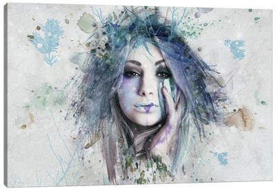 Winter Canvas Art Print