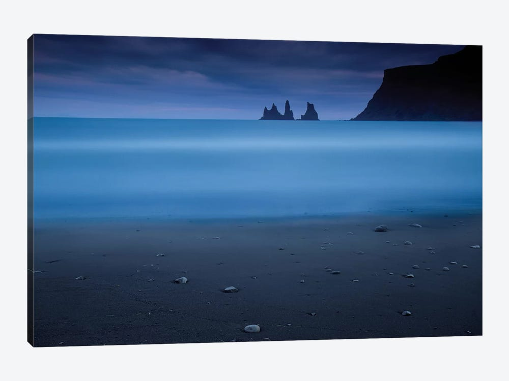 Blue Night II by Amnon Eichelberg 1-piece Canvas Print