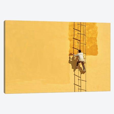 Der Anstreicher (The Painter) Canvas Print #OXM1156} by Anette Ohlendorf Art Print