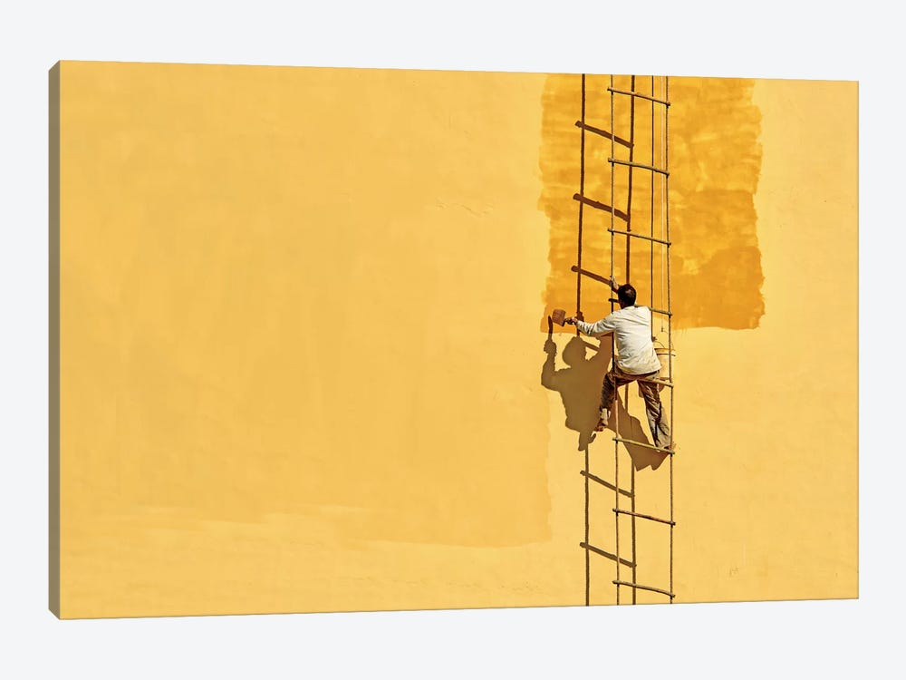 Der Anstreicher (The Painter) by Anette Ohlendorf 1-piece Art Print