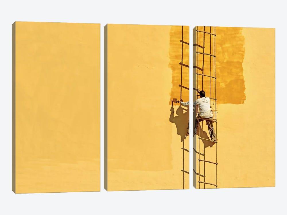 Der Anstreicher (The Painter) by Anette Ohlendorf 3-piece Art Print