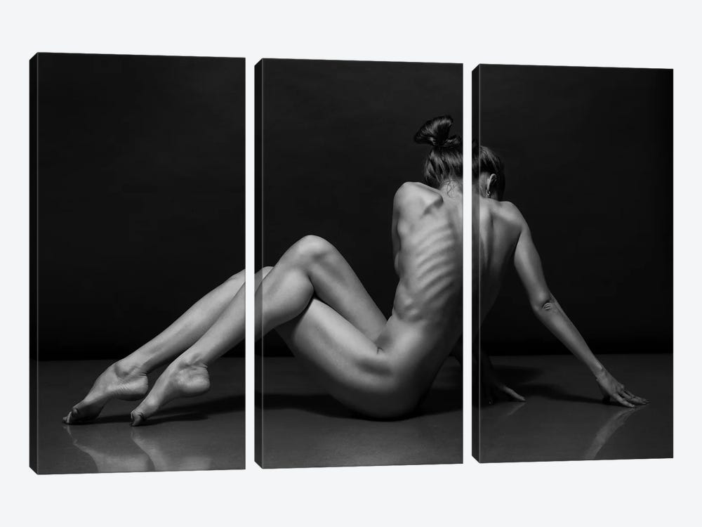 Bodyscape by Anton Belovodchenko 3-piece Art Print