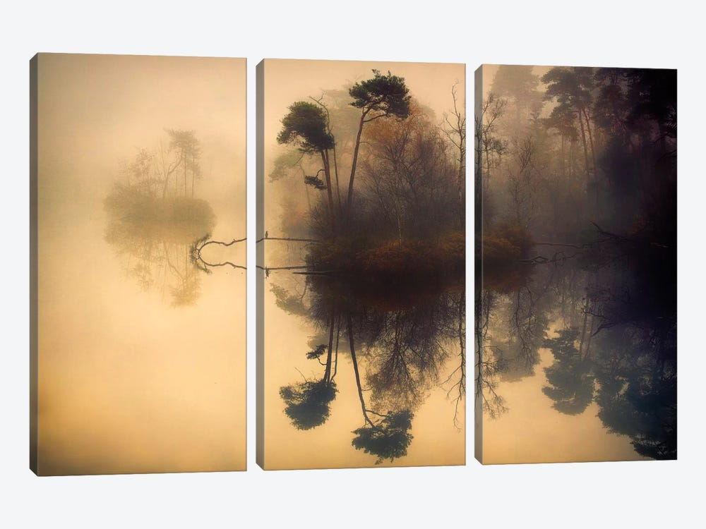 My Place by Anton van Dongen 3-piece Canvas Art Print