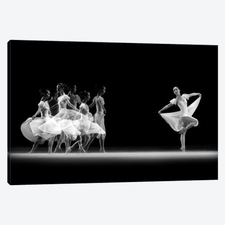 Balerina Movement Canvas Print #OXM1191} by Antonyus Bunjamin Canvas Art