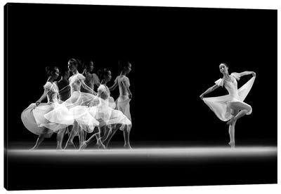 Balerina Movement Canvas Art Print