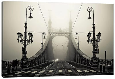 The Bridge Canvas Art Print