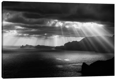 Morning Rays Canvas Art Print