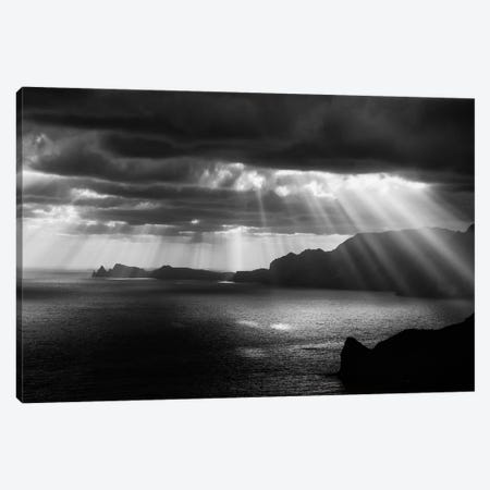 Morning Rays Canvas Print #OXM1201} by Artfiction Canvas Artwork