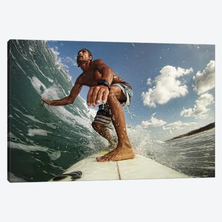 Surfer Canvas Print #OXM1203} by Assaf Gavra Canvas Art