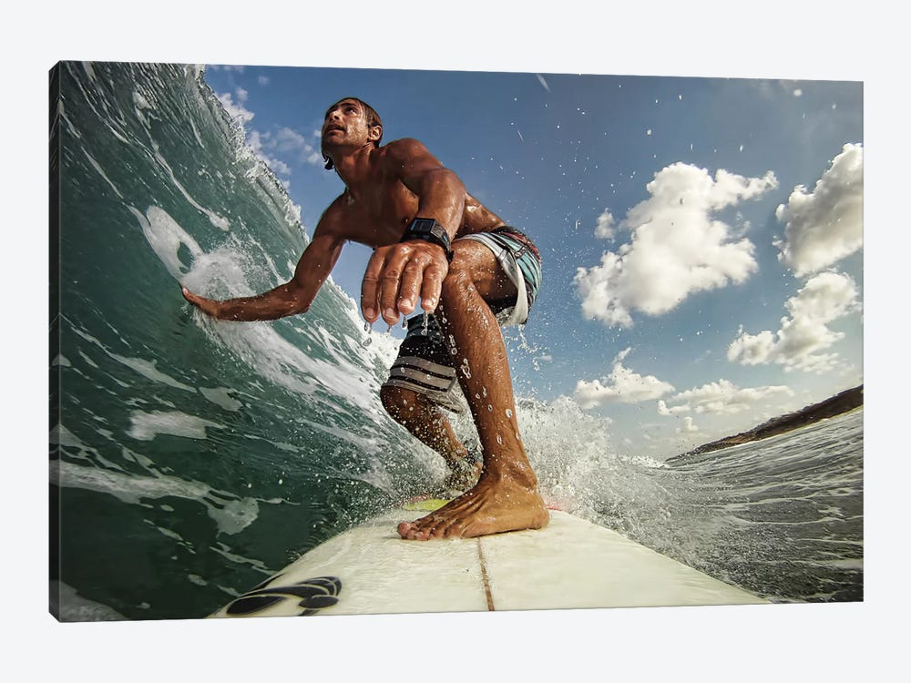 Surfer 1-piece Canvas Art Print