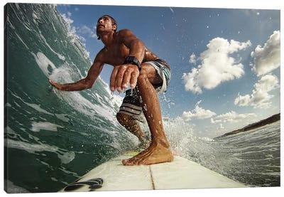 Surfer Canvas Art Print