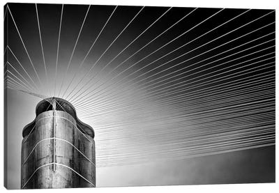 Tower Of The Strings Canvas Print #OXM121