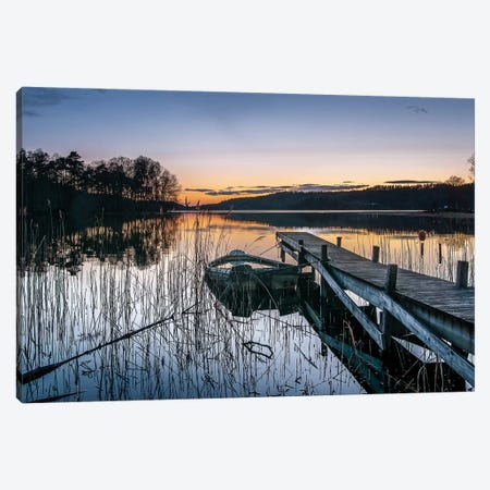 An Evening With Little Heat Canvas Print #OXM1227} by Benny Pettersson Canvas Print